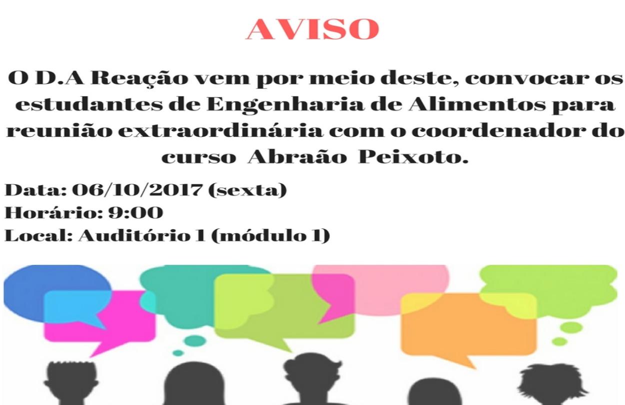 GRUPO REAÇÃO - D.A. GESTÃO 2017-2018 - Informativo