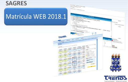 Matrícula WEB 2018.1